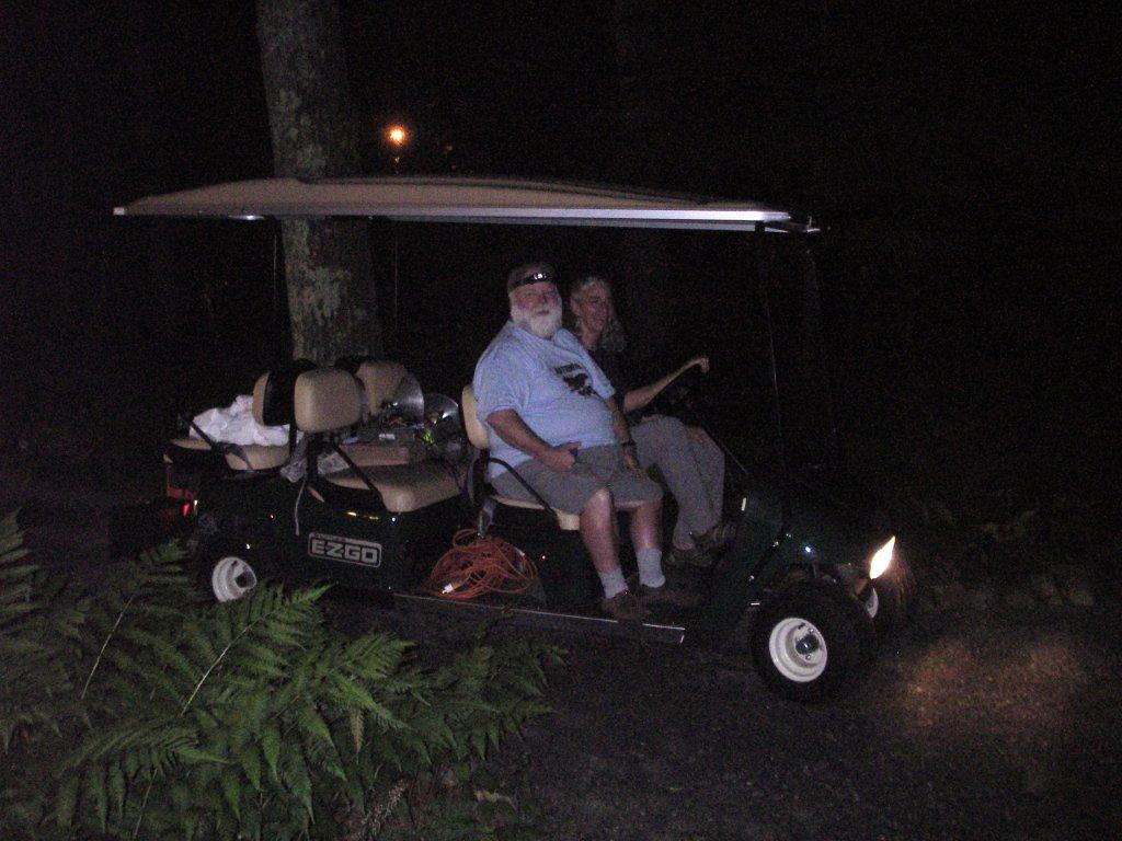 Dave Small and Bonnie picking up gear at the Garden in the Woods in Framingham Ma (2) (1)