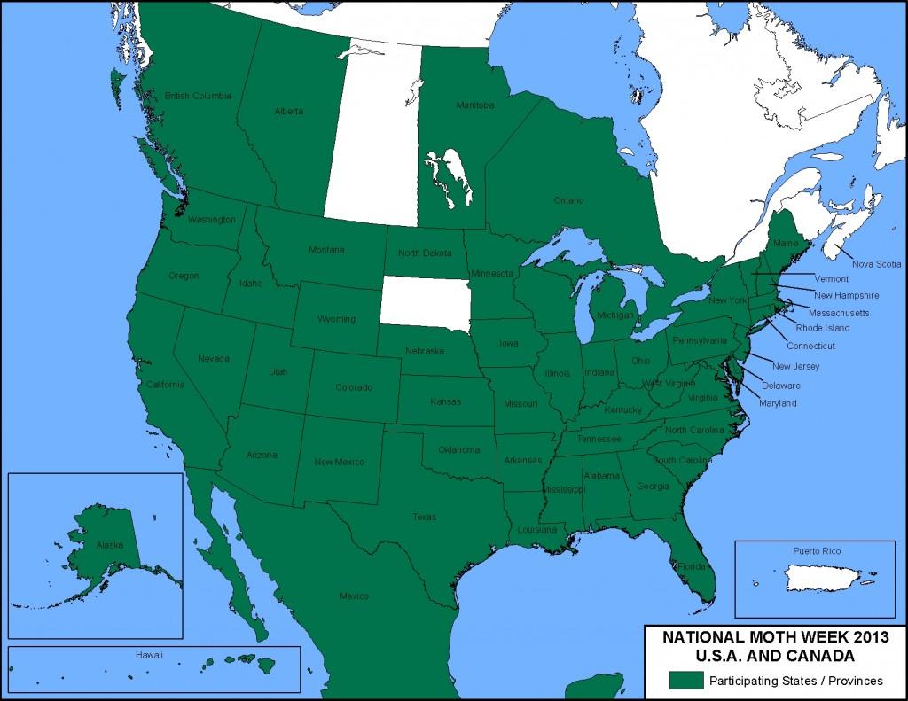 Participating States & Provinces